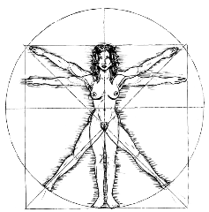 vitruvianwoman