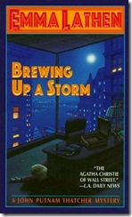 brewing up a storm emma lathen