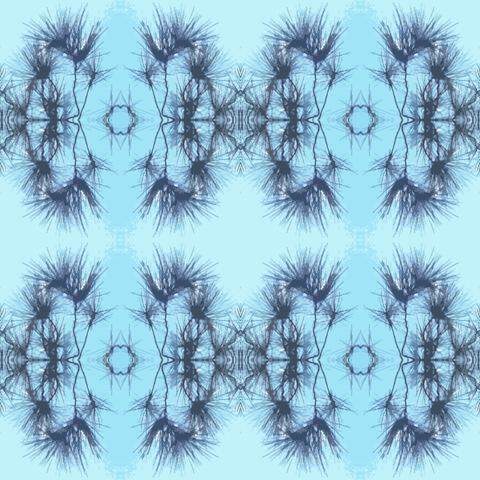 sun needles mosaic