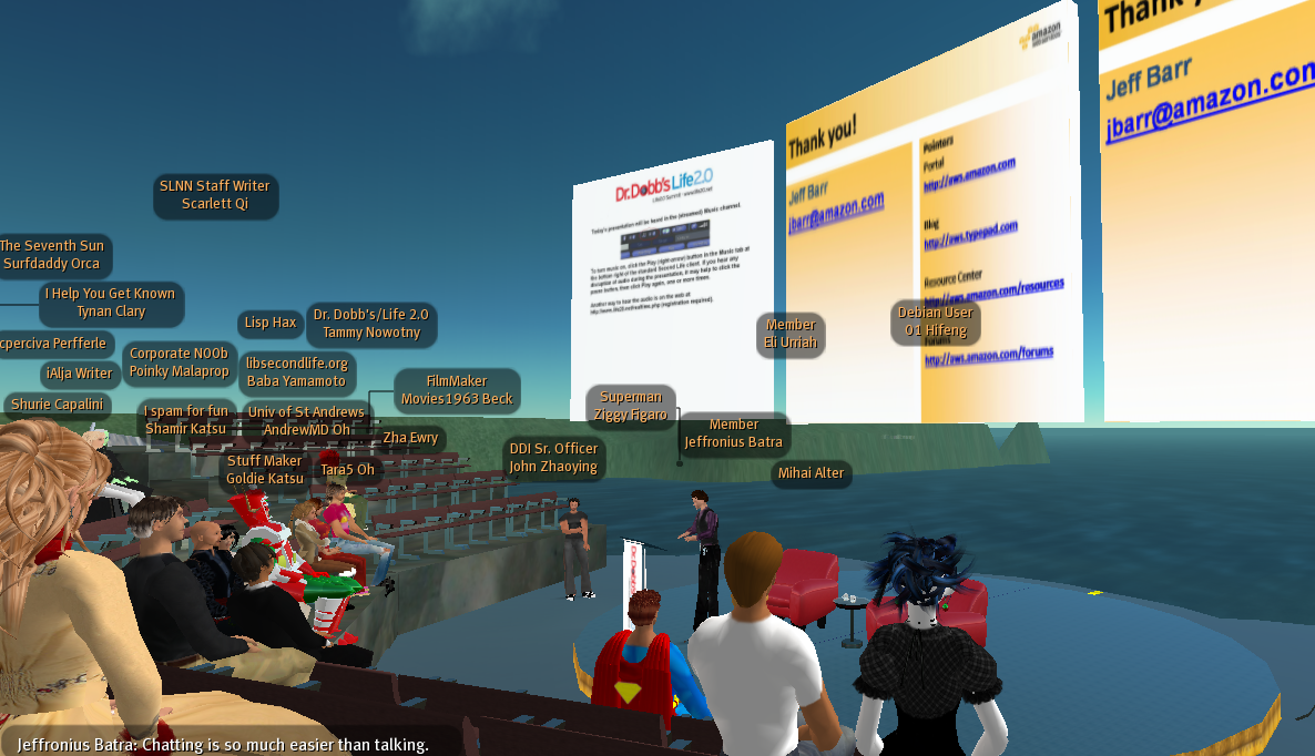 the use of second life in Second life was on the cover of businessweek, major brands like disney and amazon opened up virtual shops, and universities were re-created with classes to boot by 2009, around 1,400 companies were using the space to hold meetings and conduct trainings.
