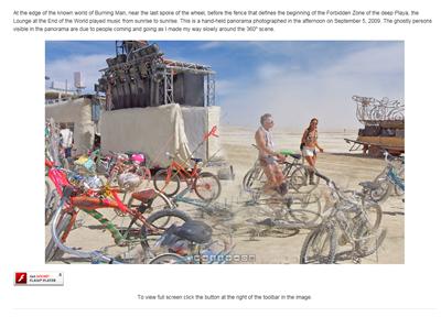 All Around Nevada - Black Rock Desert Burning Man by Howard Goldbaum