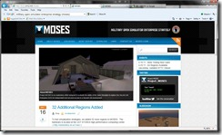 moses web home page