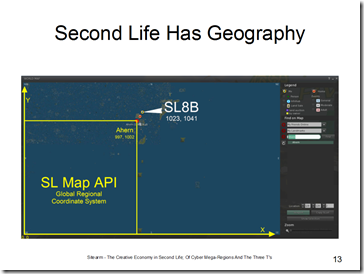 second life has geography slide