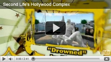 second life hollywood complex video screen shot