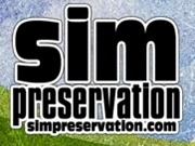 sim preservation by marktwain white logo