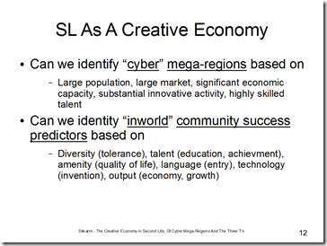 sl as a creative economy slide