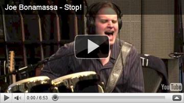 stop by joe bonamassa studio video screen shot