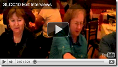 slcc 2010 exit interview video screenshot