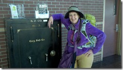 kim and train station antique safe