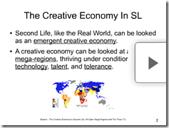 the creative economy in sl slide screen shot 408x307