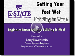 kstate mesh building video screen shot