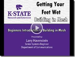 kstate mesh building video screen shot