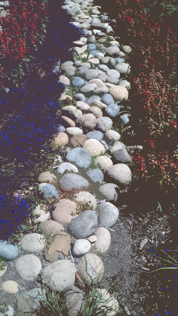 path of stones CUTOUT