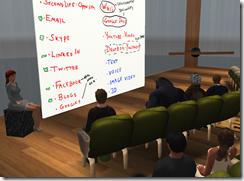 virtual collaborative tools and project tips presentation snapshot