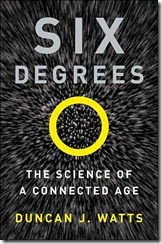 Six Degrees by Duncan J Watts