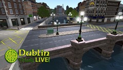 Dublin Virtually Live - O'Connell Bridge