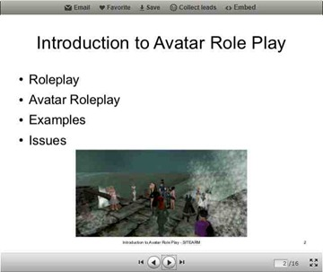 Introduction to Avatar Role Play Screenshot