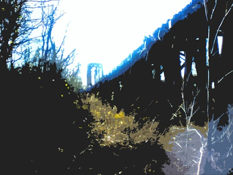 bridge sun