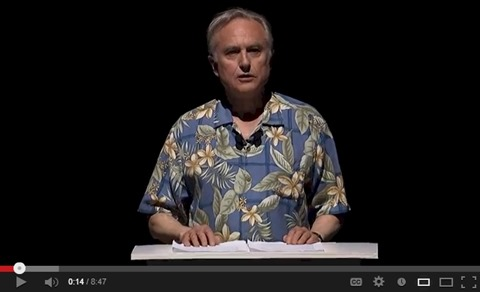richard dawkins video title slide